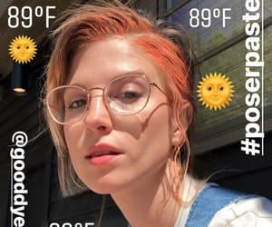 glasses, hayley williams, and singer image