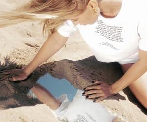 beach, fashion, and minimalism image
