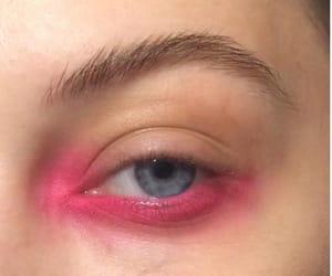 pink, eyeshadow, and makeup image