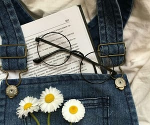 flowers and book image