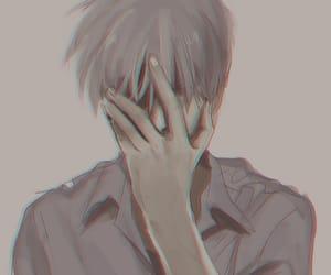 anime, art, and sad anime image