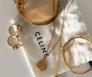 jewelry, celine, and aesthetic image