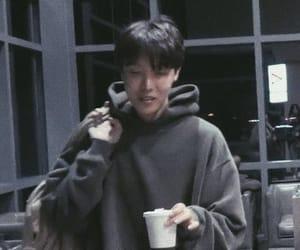 boyfriend, bts jhope, and coffee image