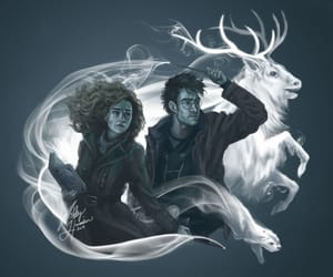 badass, couple, and harry potter image