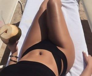 bathingsuit, bikini, and summertime image