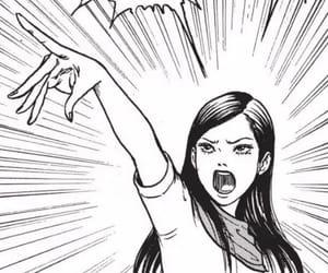 horror, manga, and japanese image