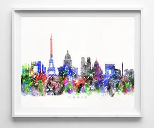 cityscape, poster, and nursery decor image