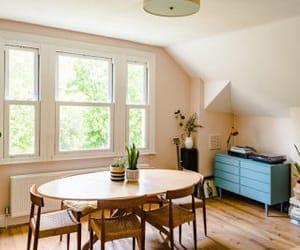 apartment, attic, and decor image