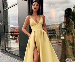 beauty, prom dresses, and trends image
