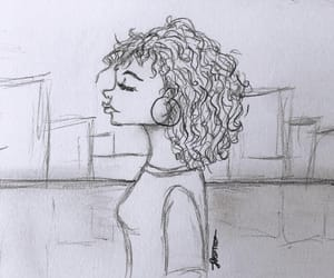 cartoon, city, and curls image