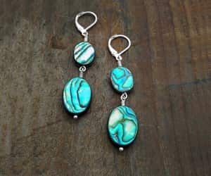 big earrings, etsy, and summer image