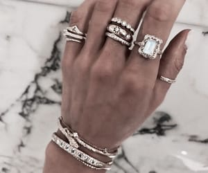 accessories, bracelet, and diamond image