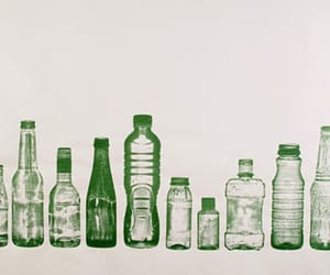 art, bottle, and drawing image