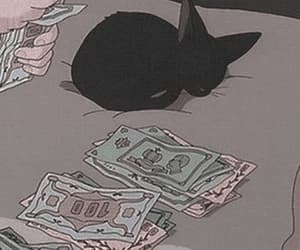 anime, gif, and money image