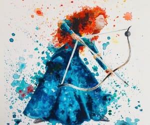 art, brave, and creativity image