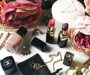 accessories, chanel, and flowers image