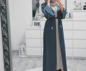 hijab, chic, and fashion image