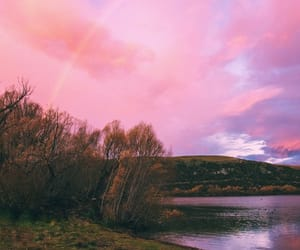 new zeland, queenstown, and pink places image