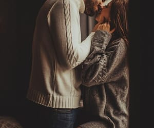 couple, kiss, and Relationship image