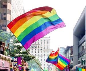 bisexual, pride, and gay image
