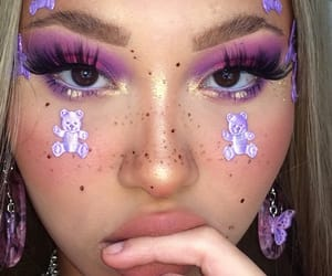 purple, aesthetic, and beauty image