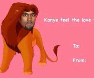 funny, kanye, and lion king image