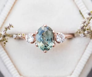 bague, blue, and chic image