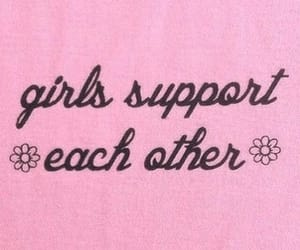 quotes, feminism, and pink image