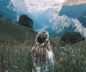 alone, girl, and solitude image
