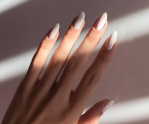 nails, girl, and photo image