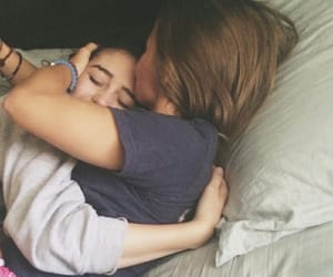lesbian, couple, and girl image