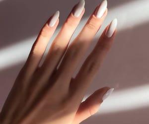 nails, girl, and photo image