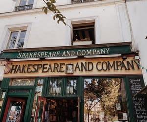books, bookshop, and shakespeare image