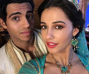 aladdin, disney, and naomi scott image