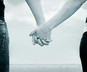 hands, holding hands, and lovely image