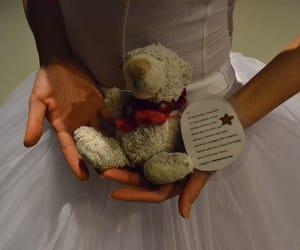 ballet, dance, and teddy bear image