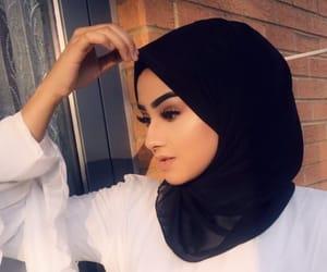 arab, beautiful, and girl image
