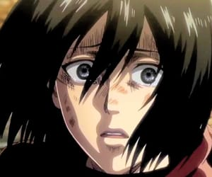 mikasa, shingeki no kyojin, and attack on titan image