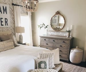 bedroom decor, farmhouse, and beautiful bedroom image