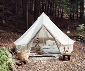 camp, camping, and comfy image