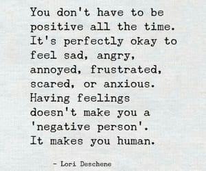 sad, human, and quotes image