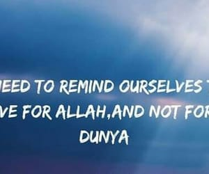 allah, islamic quotes, and islamic reminder image