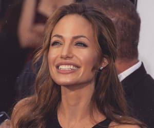 Angelina Jolie, fashion, and smile image