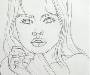 drawings, Easy, and girl image