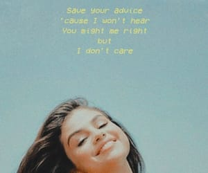 background, selena gomez, and wallpaper image