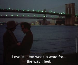 movie, annie hall, and text image