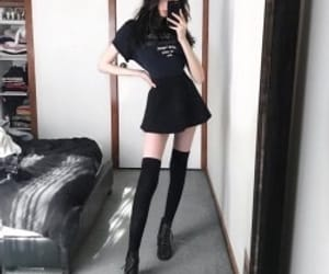 anorexia, black, and girl image
