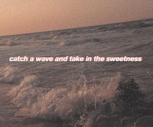 aesthetic, beach, and Lyrics image