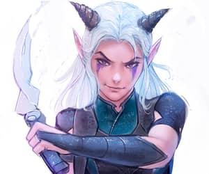 anime, rayla, and character image