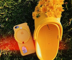 yellow, iphone, and aesthetic image